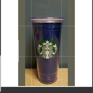Other - Purple starbucks tumbler double wall 20oz